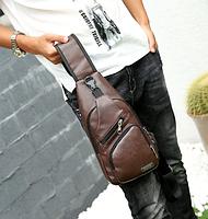 """Мужская сумка на грудь, мини-рюкзак """"Jeremy Brown"""", фото 1"""