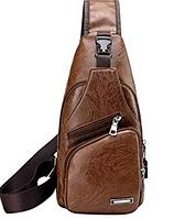 """Мужская сумка на грудь, мини-рюкзак """"Jeremy Ginger"""", фото 1"""
