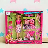 096 Набор Кукла с платьями и аксессуарами