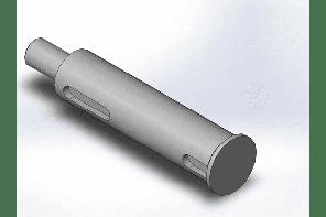 Вал вертикальный редуктора ПЗС-02.602А