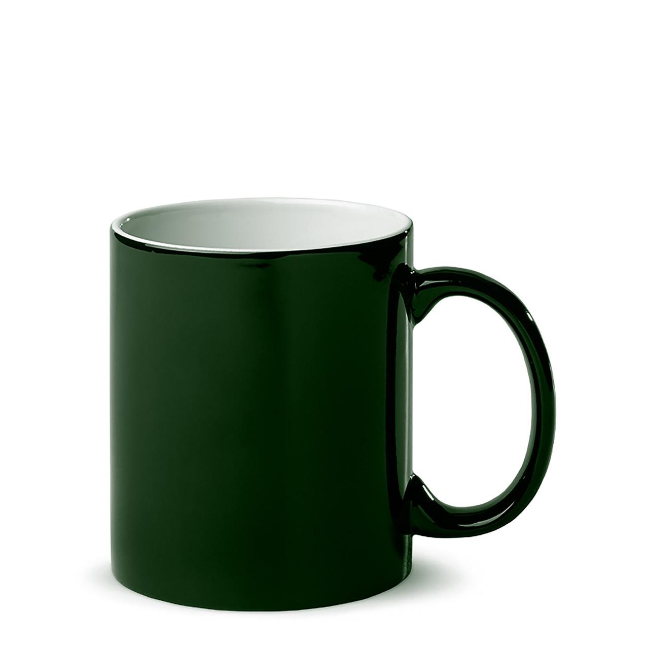Чашка для сублимации хамелеон ГЛЯНЕЦ 330 мл (зеленый)