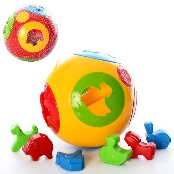 """KM3237 Іграшка """"Розумний малюк Куля 2 ТехноК"""""""