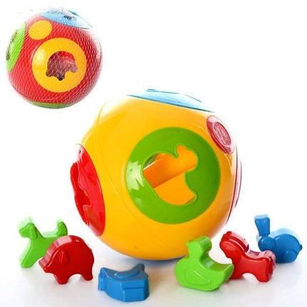 """KM3237 Іграшка """"Розумний малюк Куля 2 ТехноК"""", фото 2"""