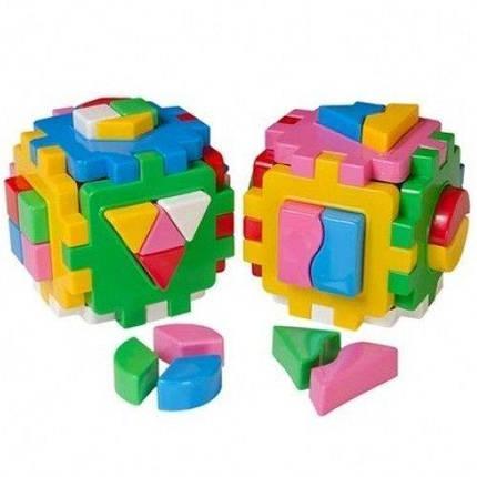 """KM2476 Іграшка куб """"Розумний малюк Логіка-комбі ТехноК"""", фото 2"""