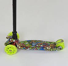 779-1391 Самокат Best Scooter MAXI салатового цвета, фото 2