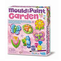 Детский игровой набор для творчества от 5 лет 4M Обитатели сада (00-03512)