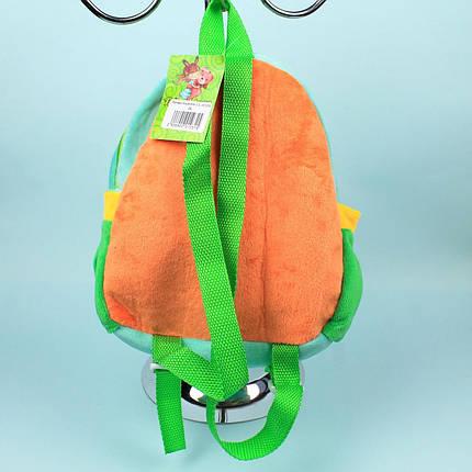 00200-28 Детский Плюшевый рюкзак для девочки Котята тм Копиця, фото 2