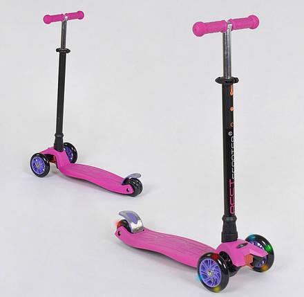 24437 Самокат Best Scooter MAXI Розовый, фото 2