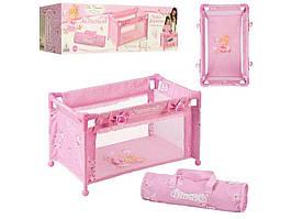 50023 Манеж для куклы, чехол, коробка 34-10-9,5 см