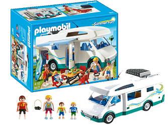 Конструктор Playmobil 6671 Авто-кемпер ( Семейный автомобиль - дом на колесах плеймобил 6671 )
