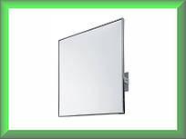 Зеркало с окантовкой из нержавеющей стали поворотное  EP0300CS Mediclinics