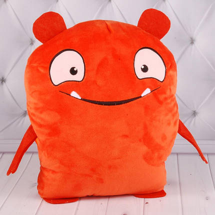 00278-54 Мягкие игрушки Игрушка-сюрприз UglyDolls оранж 31*25 см тм Копиця, фото 2