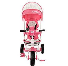 668 Детский стильный трехколесный велосипед цвета в ассортименте, фото 3