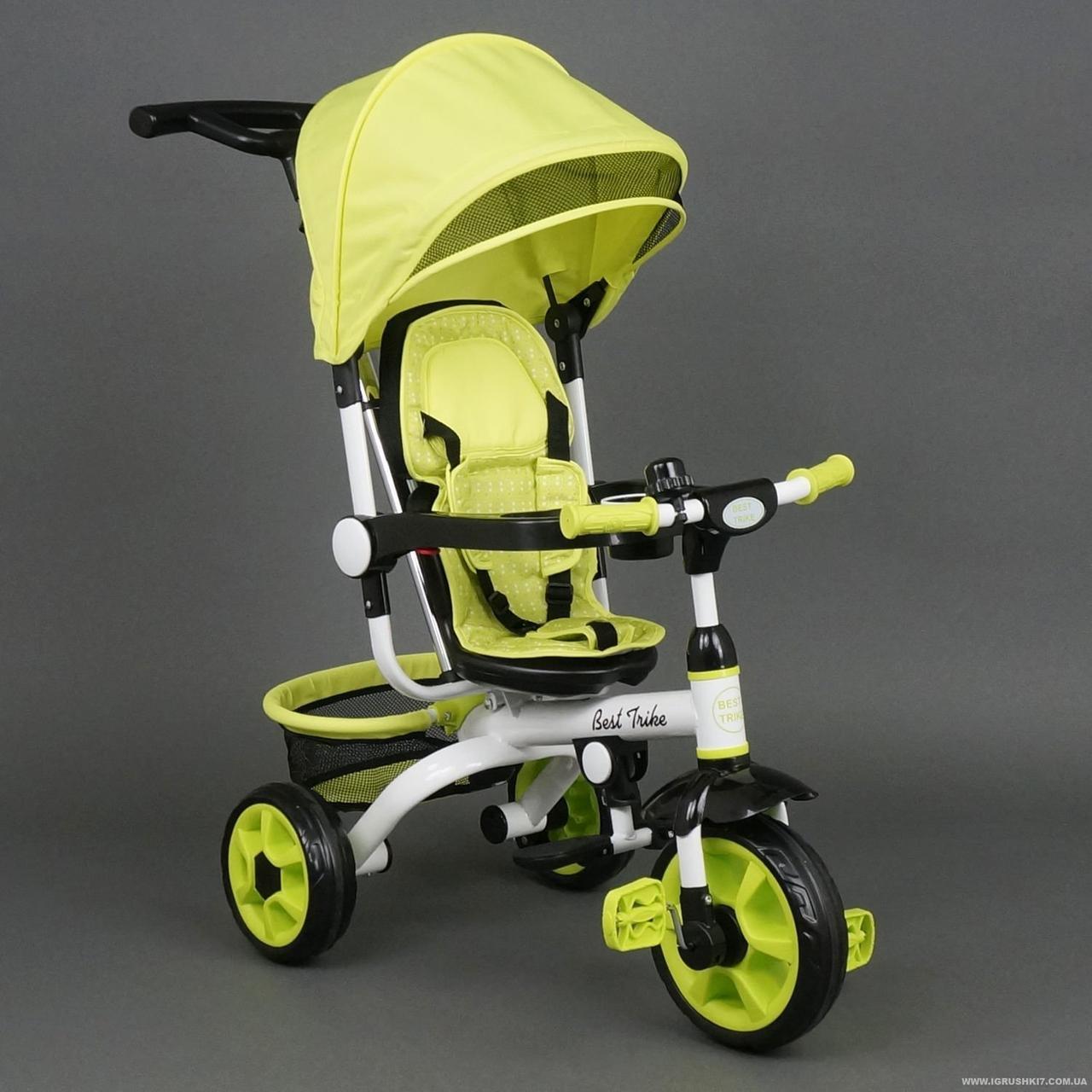 668 Детский стильный трехколесный велосипед цвета в ассортименте