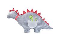"""Декоративная детская подушка """"Динозавр"""" 43х95см"""