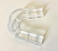 Капа одинарна (одночелюстная) DRAGON прозора, силікон, фото 1