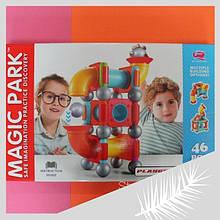 8111 Магнитный конструктор для детей 46 деталей в коробке 56,5х35,5х8 см