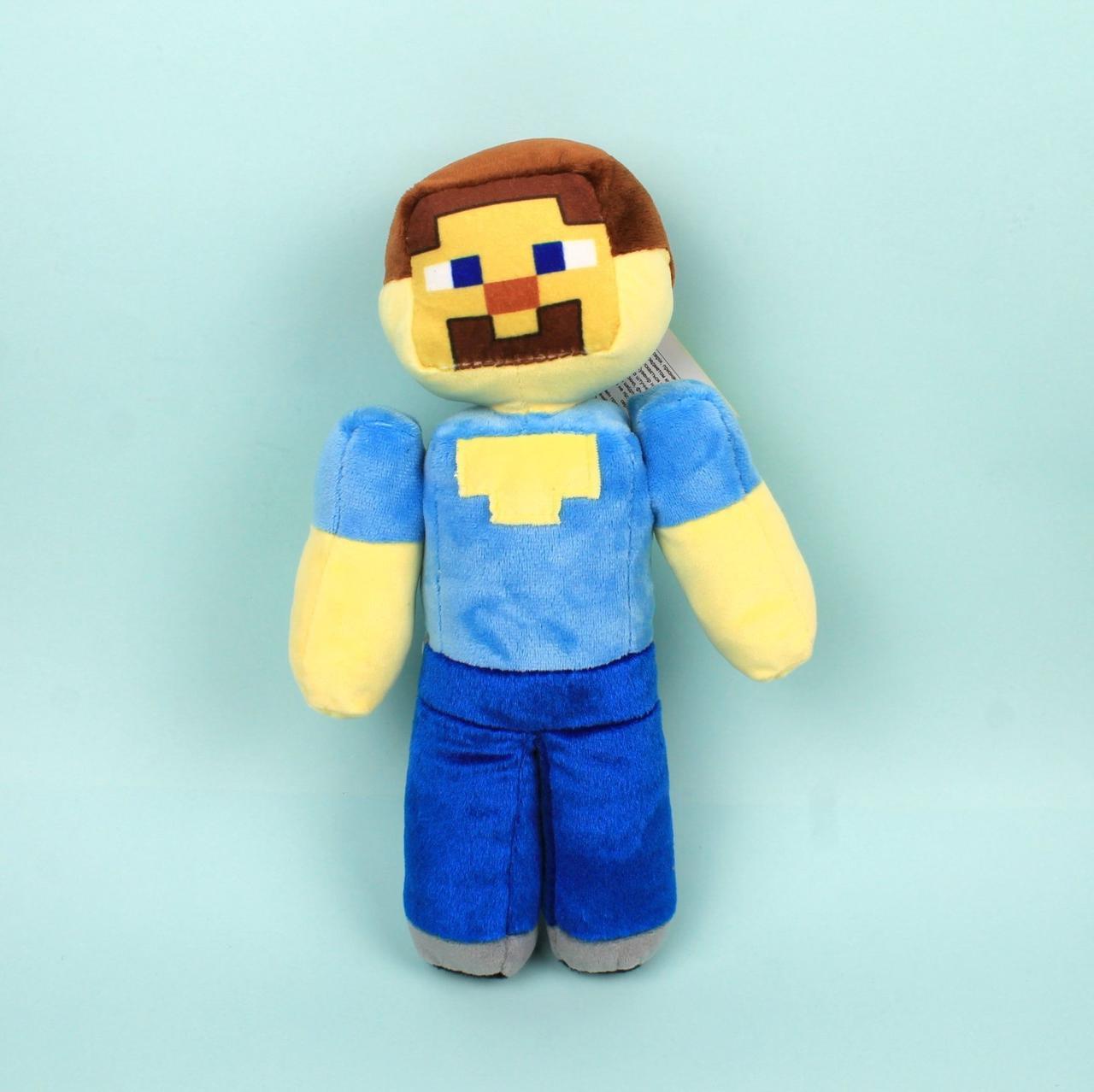 00663-7 Мягкая игрушка Стив Майнкрафт