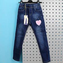 1819 Джинсы на флисе для девочки тм Seagall Wear размер 146,158,164  см
