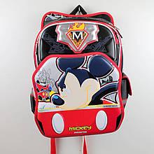 555-509 Рюкзак школьный ортопедический Микки Маус 30х25x40см