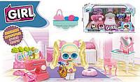 LK 1041 Набор мебели Спальня для куклы Лол в коробке 35 см × 17 см × 17 см