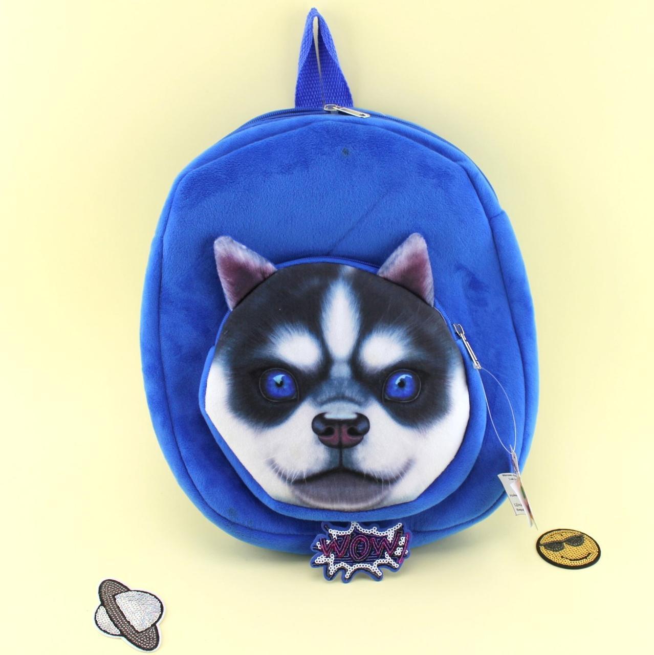 1247 Детский плюшевый рюкзак Животное