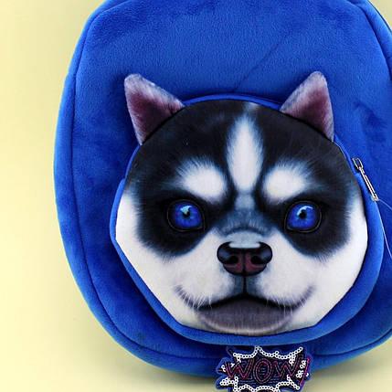 1247 Детский плюшевый рюкзак Животное, фото 2