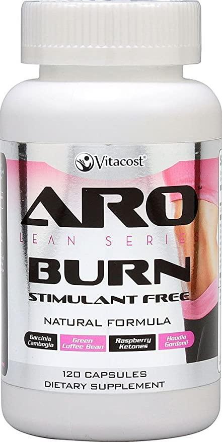Aro Burn склад для схуднення без стимулянт з гарцинією, екстрактом квасолі, зел кавою і чаєм, кетонами 120 до