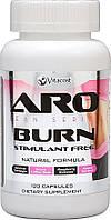 Aro Burn состав для похудения без стимулянтов с гарцинией, экстрактом фасоли, зел кофе и чаем, кетонами 120 к