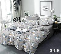 ✅ Комплект постельного белья Евро макси (Люкс-сатин) TAG S419
