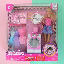 8323 Кукла с нарядом DEFA стиральная машина