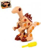 """KM76809 Конструктор-динозавр """"Велоцираптор"""" (36 елементів) (у коробці)"""
