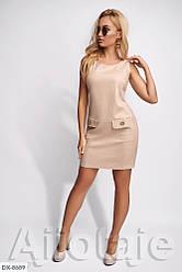 Платье летнее льняное на широких на брительках стильное размеры  42 44 46 48 Новинка 2020 есть цвета
