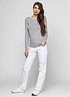 Белоснежные  качественные джинсы прямого кроя от Esmara  размер 36 евро наш 42, фото 1