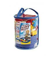 70699 Конструктор детский Автотрек (73 дет) (рюкзак)