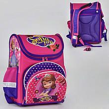 00191 Детский каркасный рюкзак школьный София