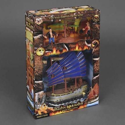 344-12 Набор пиратов свет звук на батарейке, фото 2