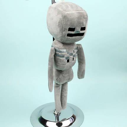 24988-6 Мягкая игрушка Майнкрафт Скелет 30 см тм Копиця, фото 2