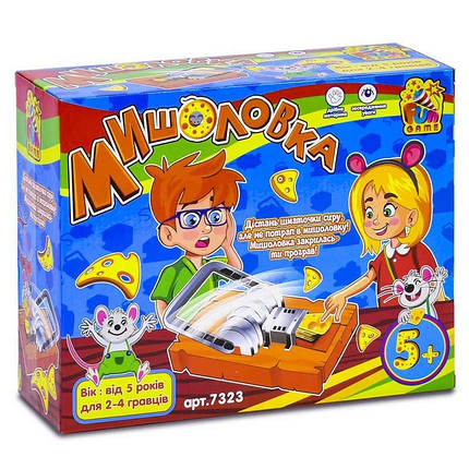 7323 Настольная игра Мышеловка тм Fun Game, фото 2