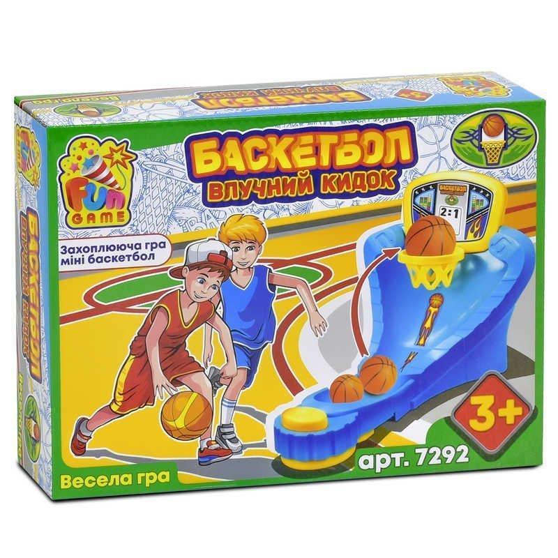 7292 Настольная игра Баскетбол FUN GAME