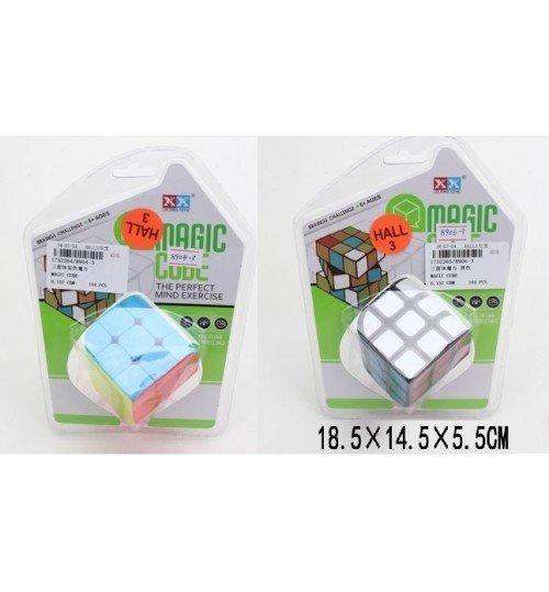 8904-3 Кубик-логика 8904-3/06-3 (1752264/5) (144шт/2)3*3,2 вида,на блистере 18,5*14,5*5,5см