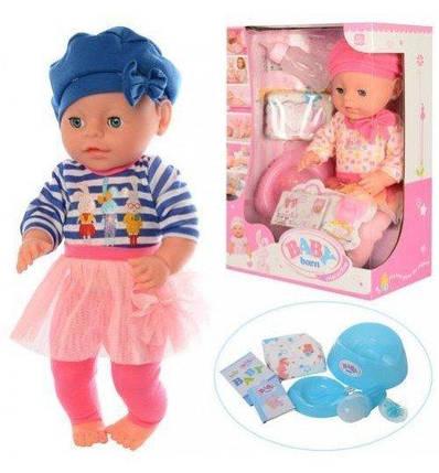1710V Функциональная кукла пупс с аксессуарами, фото 2