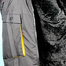 967рыж Зимняя куртка для мальчика Рыжая тм Child Hood тм размер 16 лет, фото 3