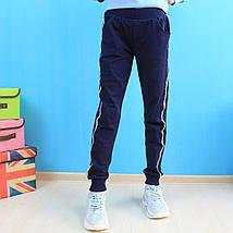52077 Спортивные штаны для девочки Блестки тм Seagull размер 134 см, фото 2