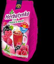 Чай растворимый Kruger со вкусом малины и черноплодной рябины , 300 гр