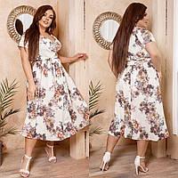 Женское летнее платье.Размеры:48-62.+Цвета, фото 1
