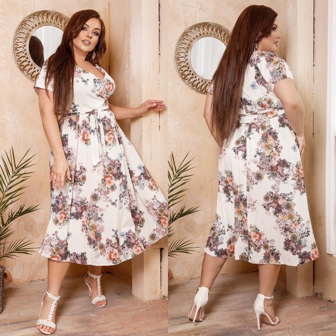 Женское летнее платье.Размеры:48-62.+Цвета