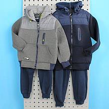 3736 Теплый костюм на мальчика тм S&D размер/рост 134