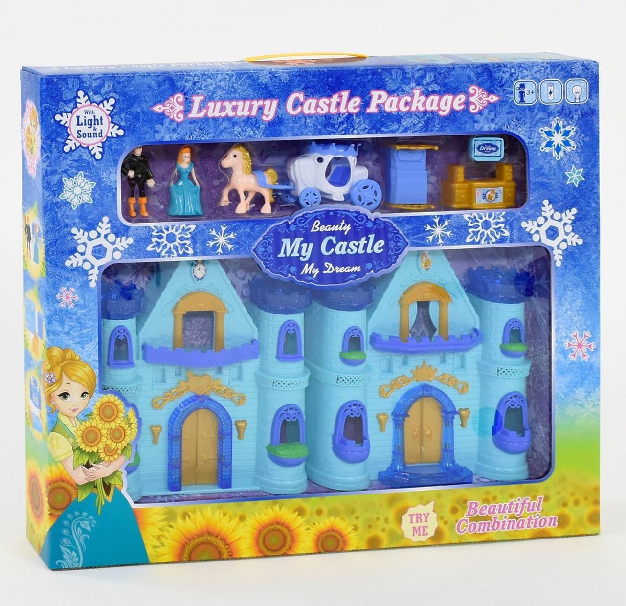 888-5 Замок Frozen  музыкальный, со светом, в коробке
