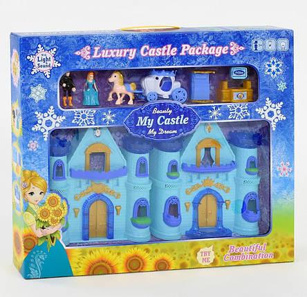 888-5 Замок Frozen  музыкальный, со светом, в коробке, фото 2